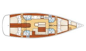 Yacht Floor Plan by Your Yacht Essential Sailing