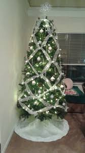 7 5 ft slim yuletide pine tree from hobby lobby that i decorated