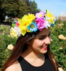 floral headband hair accessory flower crown flower crown floral floral