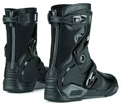 leather motocross boots 133 11 icon mens raiden dkr armored rear entry zip 204627