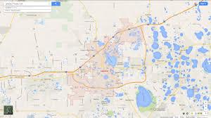 Florida City Map Lakeland Florida Map
