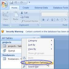 membuat form login dengan ms access 2007 customize the ribbon in microsoft access 2007 database solutions