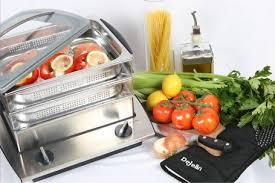 cuisiner vapeur la cuisson à la vapeur douce avec le cuiseur vapeur dejelin