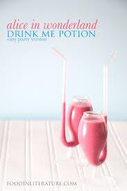 drink me potion party version alice in wonderland in literature