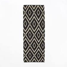 Dhurrie Runner Rugs Safavieh Handwoven Contemporary Moroccan Reversible Dhurrie Black