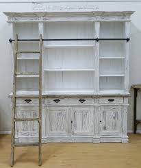 weathered bookcase