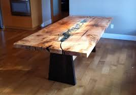 live edge dining room portfolio includes dining tables and chairs