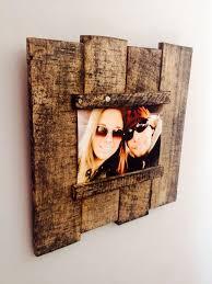 pallet picture frames diy home decor pinterest pallet