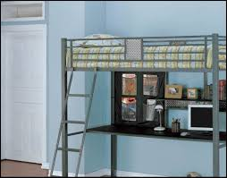 how to build a full size loft bed bedroom powell z bedroom full size metal loft bed with desk