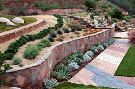 Backyard Hill Landscaping Ideas Steep Hill Gardening Ideas Houzz