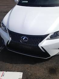 2014 lexus is350 jdm painted grill surrounds 2014 ct200h f sport clublexus lexus