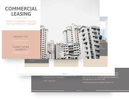 commercial lease proposal template free sample