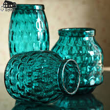 online get cheap blue glass vase aliexpress com alibaba group