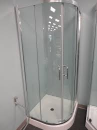 shower stall kit ove decors sierradb frameless sliding shower kit with hinged doors fabulous round shower enclosure prosto 32 x 32 round shower enclosure with sliding doors and tray