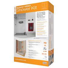 Bathroom Shower Waterproofing by Bathroom Cool Schluter Kerdi Shower Kit For Bathroom Decoration