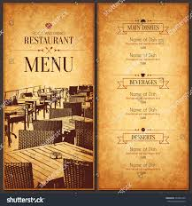 100 french cafe menu template blank restaurant menu