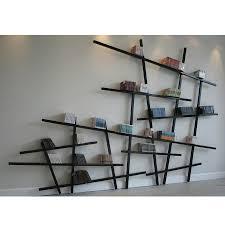Modern Bookshelf by Backyards Unique Bookshelves For Modern Bookcase Designs