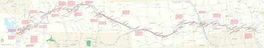 Pony Express Route Map by National Trails Maps Npmaps Com Just Free Maps Period