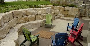 Backyard Bar And Grill Fond Du Lac by Fond Du Lac Random Boulders Buechel Stone