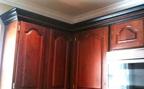 how to add crown molding to kitchen cabinets adding crown molding to cabinets ghanko com