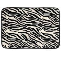 Zebra Print Bathroom Rugs Stunning Image Of Accessories For Bathroom Decoration Using