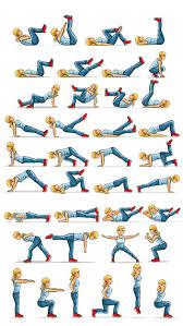 exercises at home on exercises personal trainer for