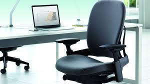 Steelcase Computer Desk Leap Ergonomic Adjustable Office Chairs Steelcase Regarding