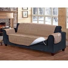 Sofa Protector Serta Heated Sofa Protector Walmart Com