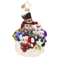 christopher radko ornaments 2014 radko snowman ornament snow