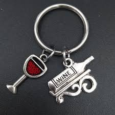 wine glass keychain popular wine glass keychain buy cheap wine glass keychain lots