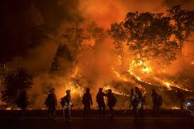 Wildfire Cali by Raging California Wildfires Kill One Woman Force Thousands To Flee