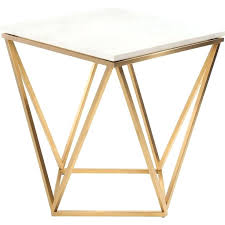 gold metal side table gold side table adventurism co