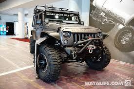 sema jeep yj 2013 sema project doomsday jeep jk wrangler 4 door