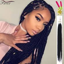 Braid Hair Extensions by Box Braids With Color Bug 1b 2 4 27 3x Box Braids Hair