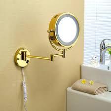 bathroom makeup mirror wall mount wall mounted lighted makeup mirror medium size of bathroom mounted