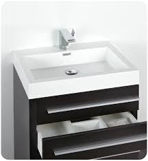 Discount Bathroom Vanities Dallas Faucet Com Fvn8024bw In Black By Fresca