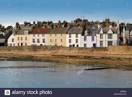 anstruther seafront beach sea wall fife scotland scottish scot uk