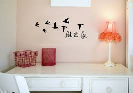 let it be inspirational with birds love vinyl wall decal sticker let it be inspirational with birds love vinyl wall decal sticker art