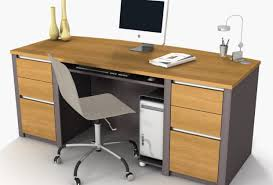 Ikea Long Wood Computer Desk For Two Decofurnish by Desk Computer Green Home Office Features Long Wooden Computer