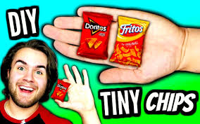 Coolest Doritos Bag Child U0027s Diy Mini Chips Tiny Doritos Fritos U0026 Lays Bags