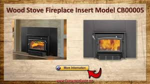 wood fireplace inserts youtube