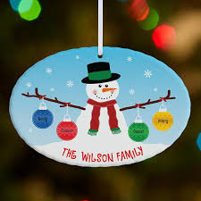 personalized birthstone ornaments personalized christmas ornaments personal creations