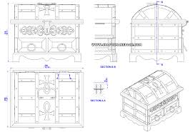 Free Small Wooden Box Plans by Antique Style Jewelry Box Plan