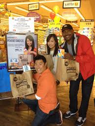 volunteer thanksgiving san francisco nbc bay area and safeway holiday food drive nbc bay area