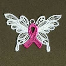 fsl pink ribbon butterfly embroidery designs machine embroidery