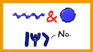 the de broglie equation and why there is no wave particle duality