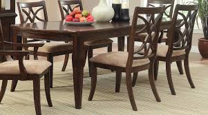 cherry dining room set homelegance keegan dining table cherry 2546 96