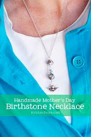 s day birthstone necklace handmade s day birhtstone necklace birthstone necklace