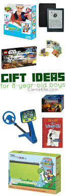 gift ideas for 8 year boys carrie