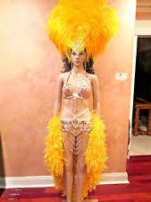 Las Vegas Showgirl Halloween Costume Samba Costume Ebay